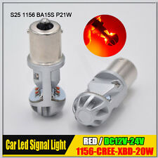 Canbus Red 1156 BA15S P21W CREE 20W LED Car Backup Brake Reverse Light Bulb Lamp