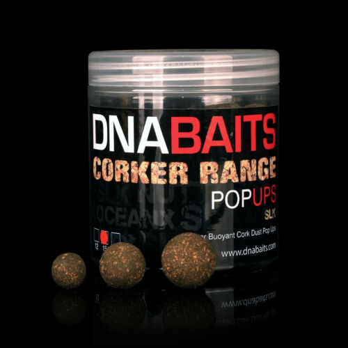 carp fishing DNA Baits Corker Pop Ups 12mm bait SLK