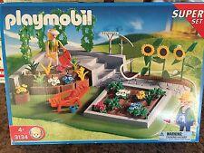 Playmobil 3134 Flower Garden Super Set NRFB Retired RARE