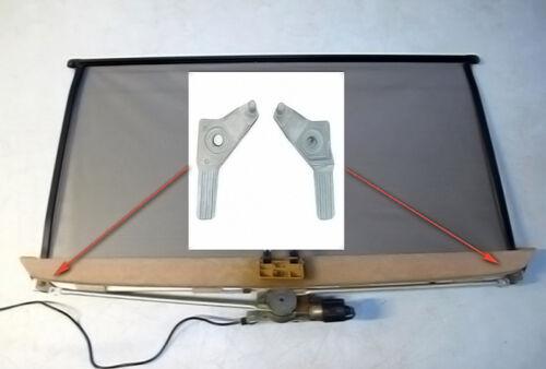 Mercedes arrière parasol rideau kit de réparation coin métaux droite et gauche