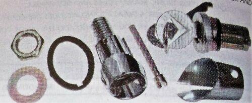 Details about  / 65-66 MUSTANG TRUNK LOCK /& Bezel w//keys spacer Waterproof Kit-no rust Cadmium