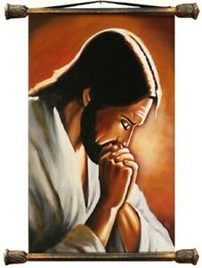 Religion-Jesus-Christ-Handmade-Oil-Painting-Picture-Oil-Frame-Pictures-G00238