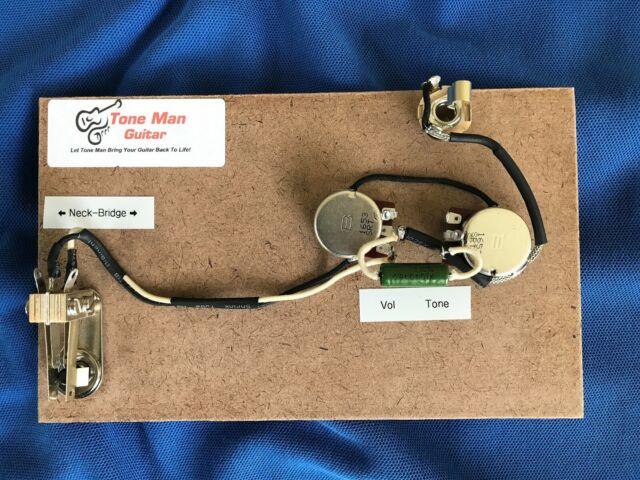 upgrade prewired wiring kit for fender standard jazzmaster pio tone cap pots