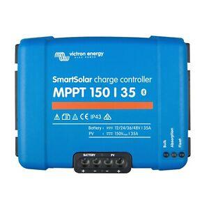 Travailleur Victron Smartsolar Mppt 150/35 35 A Solar Charge Controller 150 V (bluetooth)-afficher Le Titre D'origine Pure Blancheur