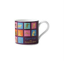 Wedgwood London 2012 Olympic Games - 2 years to go XIV Paralympic Games Mug