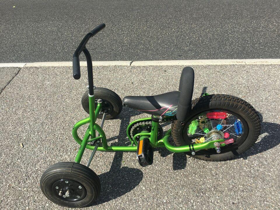 Handicapcykel, Jørn Iversen 007 3 hjuler, 1 gear