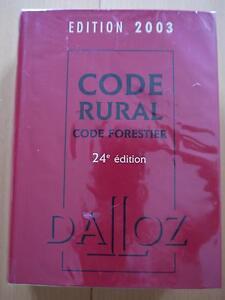 G29-CODE-RURAL-CODE-FORESTIER-2003-DALLOZ