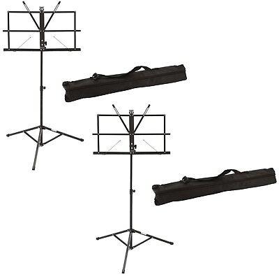 Notenpult Orchesterpult Noten Pult Lassen Sie Unsere Waren In Die Welt Gehen GüNstiger Verkauf 2 X Dimavery Notenständer Incl Tragetasche