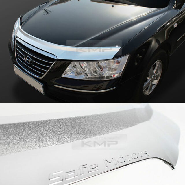 For HYUNDAI 2006-10 NF Sonata i45 Chrome Bonnet Hood Guard Garnish Molding K898