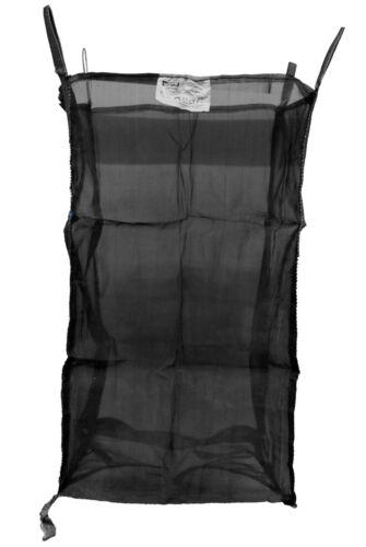x Asup Holz Big Bag 100x100x165 cm Netzgewebe SF 5:1 SWL 1000 kg