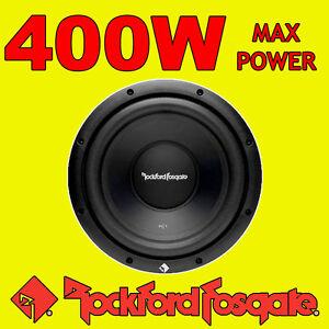 Rockford-Fosgate-10-Pulgadas-10-Pulgadas-400w-Auto-Audio-primer-Bass-Subwoofer-Sub-25cm-4-ohmios