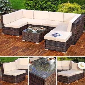 Xxl Lounge Gartenmöbel Set Sitzgruppe Garten Sofa Auflagen