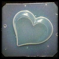 Resin Flexible Mold Heart Mould Craft Supplies