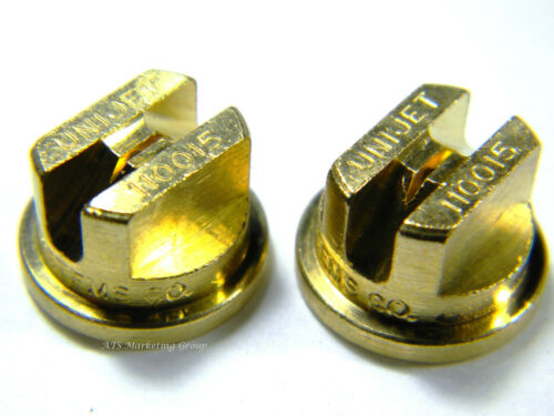 Quality Brass Tee Jets 11001.5 for wands hoses Carpet Cleaning
