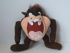 "Looney Tunes 8"" Taz Plush Tasmanian Devil Stuffed Animal Ace 1996"