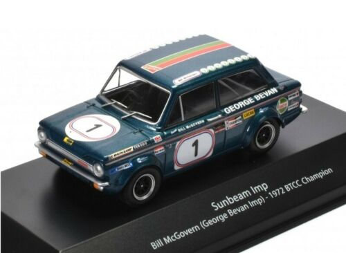 Sunbeam Imp McGovern 1972 BTCC coche 1:43 Atlas Diecast