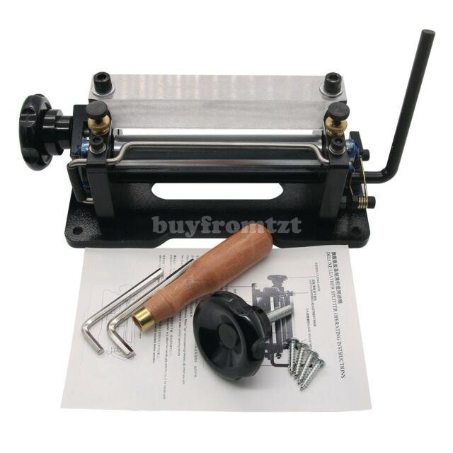 806P Manual Paring Peeling Machine Leather Splitter Skiver Shovel Skin Machine