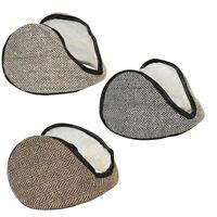 Fleece Ear Muff Herringbone Unisex Ear Warmers One Size Fashion Winter Muffs