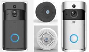 Wireless-Smart-WiFi-DoorBell-Video-Visual-Camera-Intercom-Home-Security-Kit