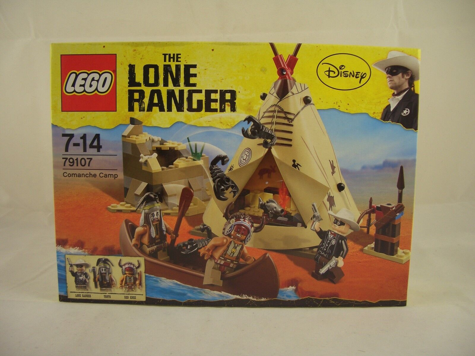 LEGO 79107 Lone Ranger Comanche Camp New Sealed