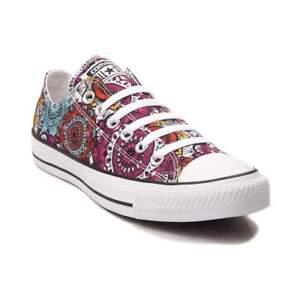 Détails sur Neuf Converse Chuck Taylor All Star Lo Mandala Basket Multicolore Chaussures