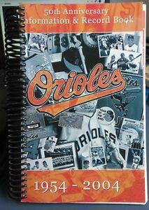 Baltimore-Orioles-50th-Anniversary-Information-amp-Record-Book-1954-2004-New