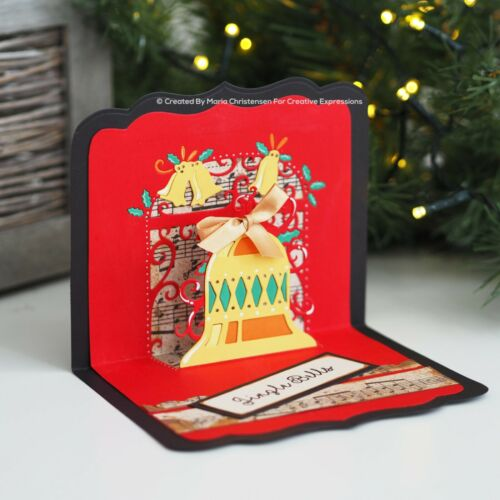 2020-Creative Expressions-Paper Cuts Pop Ups Christmas Collection