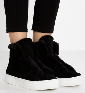 DKNY-Donna-Karan-Mason-Fur-Shearling-Shoes-Boots-Shoes-Sneakers-Trainers