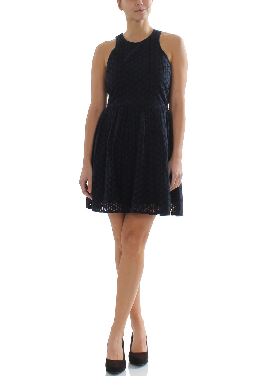 Superdry Damenkleid CAMYLLA RACER DRESS Navy