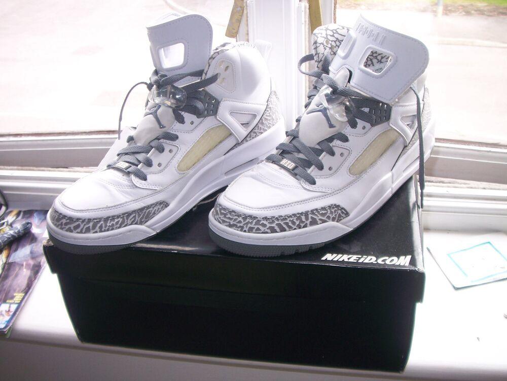 RARE-Authentic Nike iD Spizike Air Jordan, taille UK 10,EUR 45-