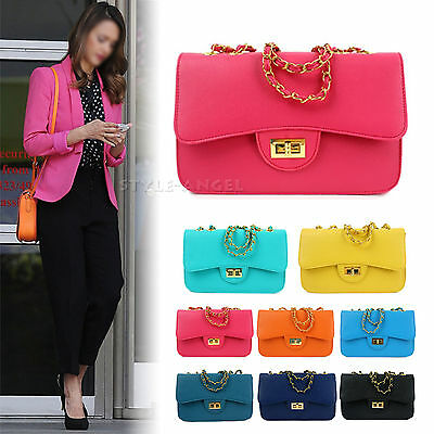 New Women Shoulder Bag Handbag Lady Messenger Cross Body Bag Faux Leather Purse