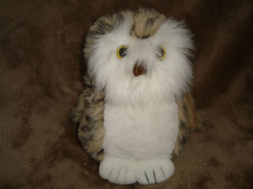 "Heritage House Plush Spotted Owl 7"" tall"