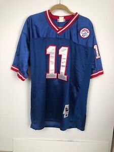 Details about M & N New York Giants Phil Simms 11 Spider 43 1986 Throwback Jersey Mens