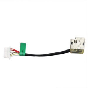Laptop AC DC Power Jack Plug in Socket Connector with Cable Harness for HP Pavilion 15-ck010ca 15-ck013ca 15-ck018ca 15-ck075nr 15-cr0009ca 15-cr0010nr 15-cr0011nr 15-cr0017nr