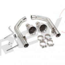 FLOWTECH - 15-17 Mustang 2.3 Eco, 3.7 V6 Axle-Back Flowtech 12145FLT Cat-Back Exhaust System
