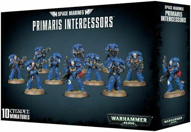 Space Marines Primaris Intercessors x10 Warhammer 40k Games Workshop