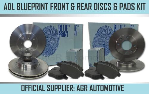 BLUEPRINT FRONT REAR DISCS AND PADS FOR KIA RIO 1.5 D 2005-11