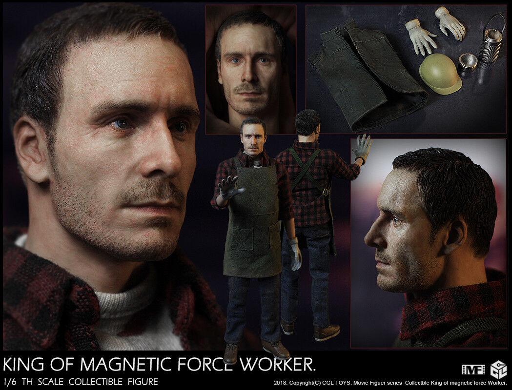 Pre-ordine 1 6 SCALA CGL  giocattoli MF12 Re della forza magnetica Lavoratore Fassbender  varie dimensioni
