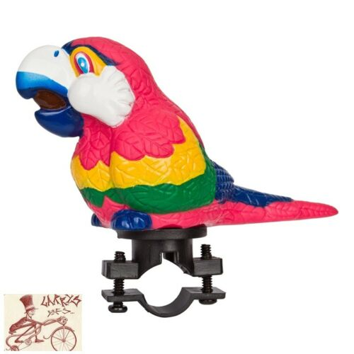 SUNLITE SQUEEZE PARROT BICYCLE HORN