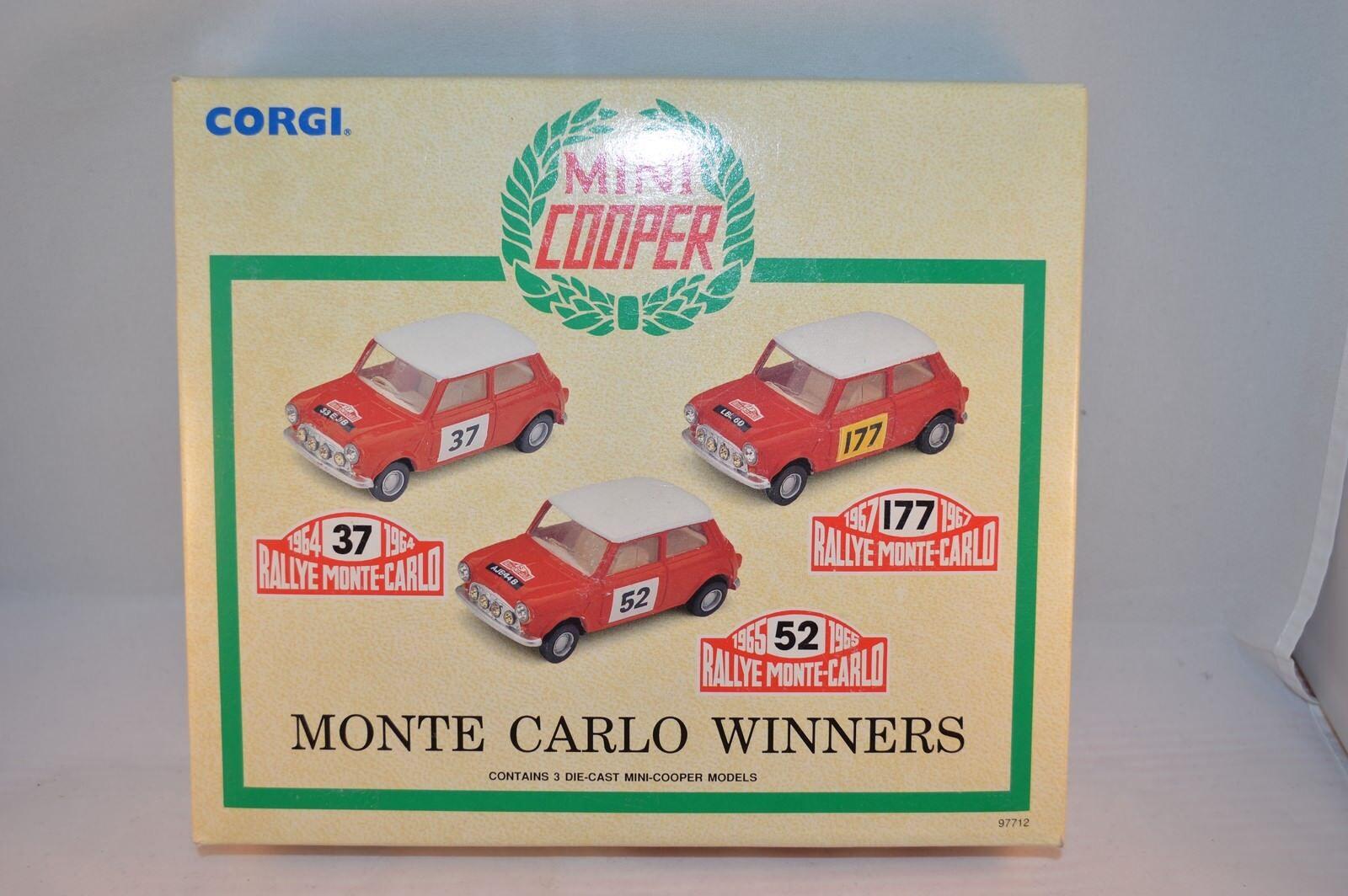 Corgi 97712 Mini Cooper Monte Carlo Winners 1 43 mint in box