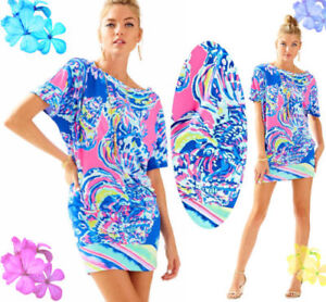 4c9dc57485d3 NWT 178.00 Lilly Pulitzer Lowe Dress Multi Coastal Retreat ...