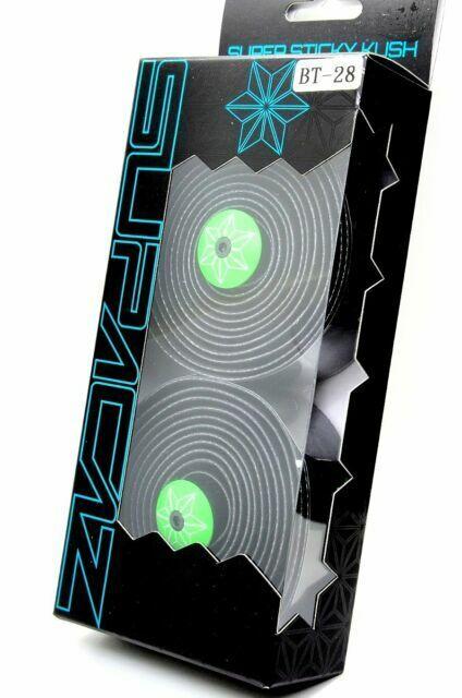 Supacaz Super Sticky Kush Galaxy Black//Neon Green bar tape BT-28