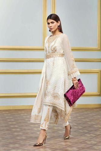 Agha Ahmed Noor Pakistan Sana Designer Suit Khaadi Maria B originale 3pz Gul 100 HZvc4q