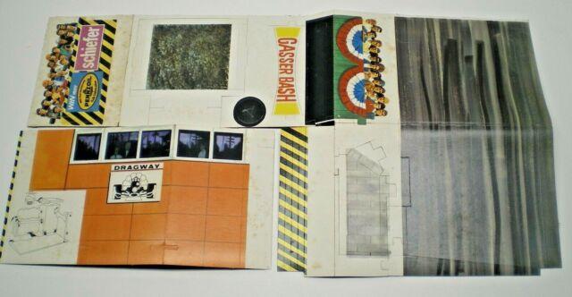 AMT 1969 Rare Gasser series kits Cardboard starter line Drag strip Display L@@K
