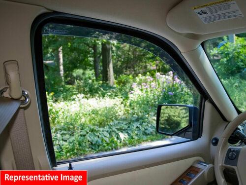 WeatherTech In-Channel Side Window Deflectors for 2000-2006 Mazda MPV Dark Tint