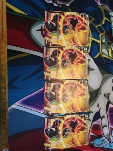 Dragon Ball Super TCG 4x Bardock Expansion Rare 4x EX06-22 the Enlightened