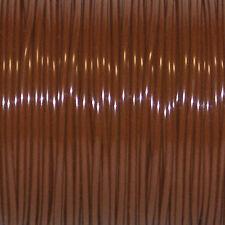 50 YARDS (45m) SPOOL MEDIUM BROWN S'GETTI REXLACE PLASTIC LACING CRAFTS CYBERLOX