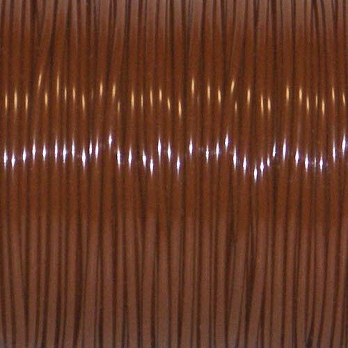 45 Carrete marrón medio s/'getti rexlace Plástico cordones artesanía cyberlox 50 Yardas