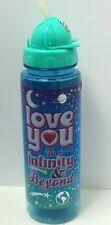 """Novelty Sippin/' Buddies 24oz Water Bottles W// Flip Top Straw//Animals /""""Super../"""""""
