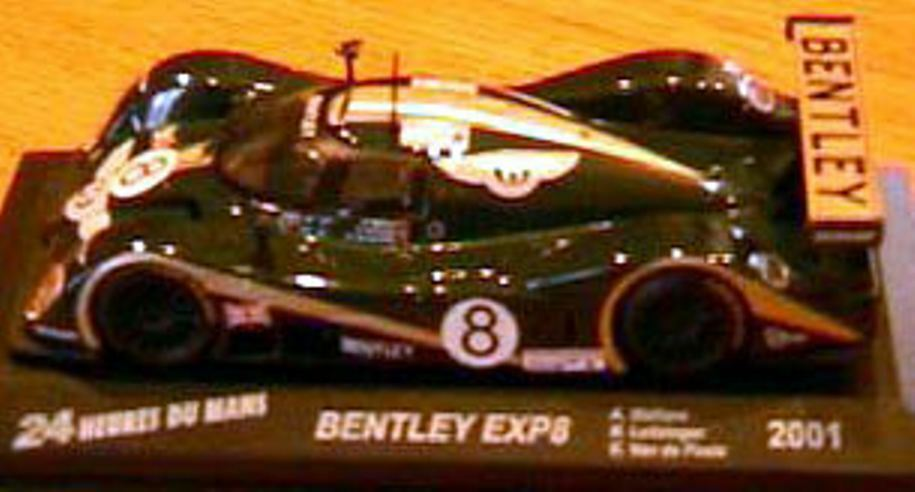 BENTLEY EXP 8 HEURES HEURES HEURES DU MANS 2001 greenE 1 43  NEW 395fd4